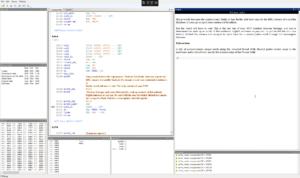 Debugging z-machine code